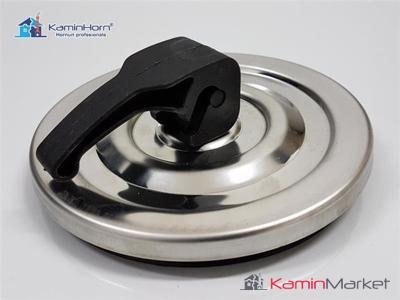 Usa curatare cos de fum INOX - 130 mm rotund